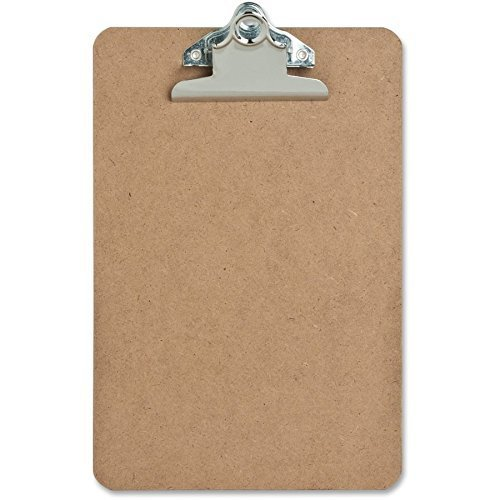 "12 Pack – Mini Clipboard – Hardboard – 6"" x 9"" Sparco Mini"