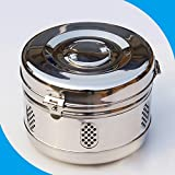 Doc.Royal 201 Stainless Steel Material Storage Tank First Aid Storage Sterilization Tank Medical Supplies 30CM