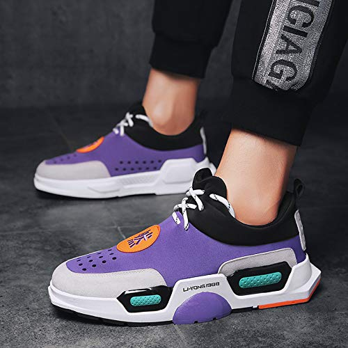 Men's Leisure Sport Trend Thick Running Personality Sneakers Shoes Nanxieho Fashion Bottom qtEqR