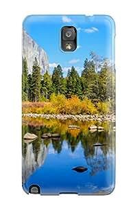 WSmYxWO16073esrqD Jeffrey Wasser Mountain Lake Durable Galaxy Note 3 Tpu Flexible Soft Case