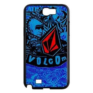 DIY Printed Volcom hard plastic case skin cover For Samsung Galaxy Note 2 N7100 SNQ392438