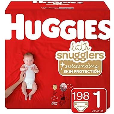 Huggies Jumbo Ultimate Newborn 108 Pack 12hrs Leakage Protection