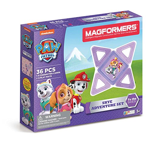 Magformers 66008 Building Kit, Paw Patrol Colors Only $18.29 (Was $49.99)