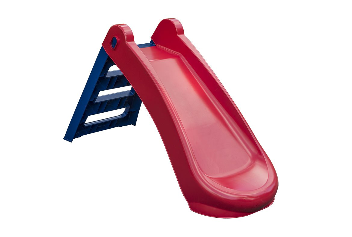 Palplay S718 Foldable Slide Playset, Red/Blue