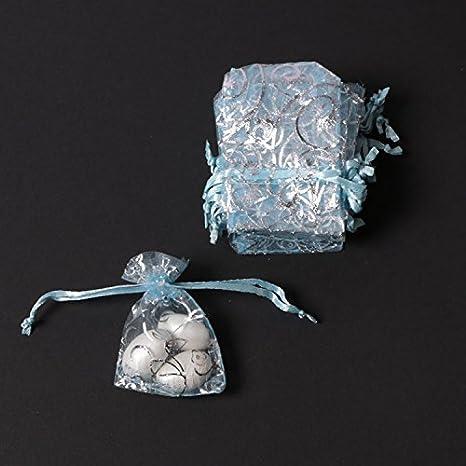 mytorten País Azul con Plata Diseño Mini tul Bolsa Chen 25 ...
