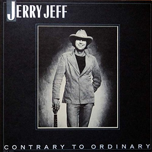 JERRY JEFF WALKER - contrary to ordinary MCA 3041 (LP vinyl record)