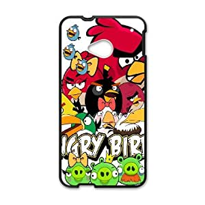 HTC One M7 Csaes phone Case Angry Birds ABD93470