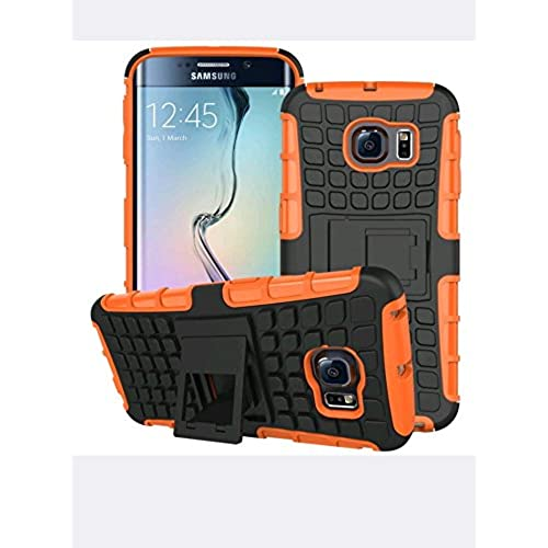 Galaxy S7 dual layer armor case with kickstand (orange) Sales