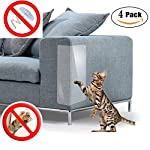 PetIsay Plastic Couch Guard from Cat Scratching Protector Clawing Furniture Repellent Table Set Sofa Slipover Pads