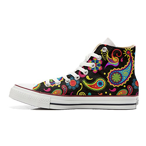 Handmade Pasley Zapatos Star Converse Fluo Personalizados All Producto WpSqaFc