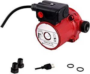 SHYLIYU Pressure Booster Pumps 115V 3-Speed Cast Iron Booster Pump 1 1/2 inch Outlet 46/67/93W Circulator Pump for Home