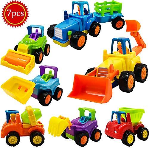 Scientoy Toy Cars, 7 pcs Constru...
