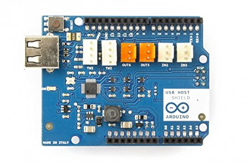 Arduino usb host shield import it all