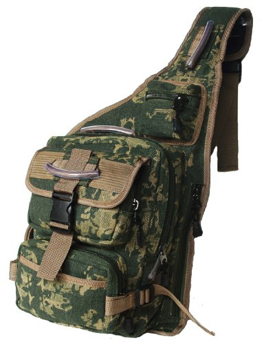 Military Inspired Sling Bag Bookbag Backpack Camouflage, Outdoor Stuffs