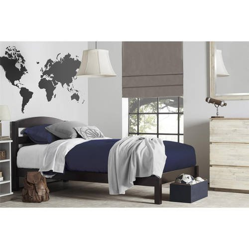 (Better Homes and Gardens Leighton Twin Bed, Espresso)