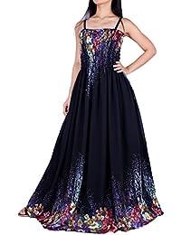 Black maxi plus size dress