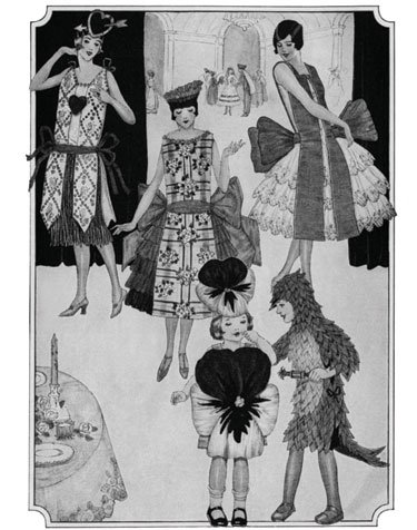 How to Make Crepe Paper Costumes ,, A 1920s Guide for Making
