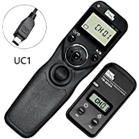 Pixel TW-283/UC1 LCD Wireless Shutter Release Timer Remote Control for Olympus
