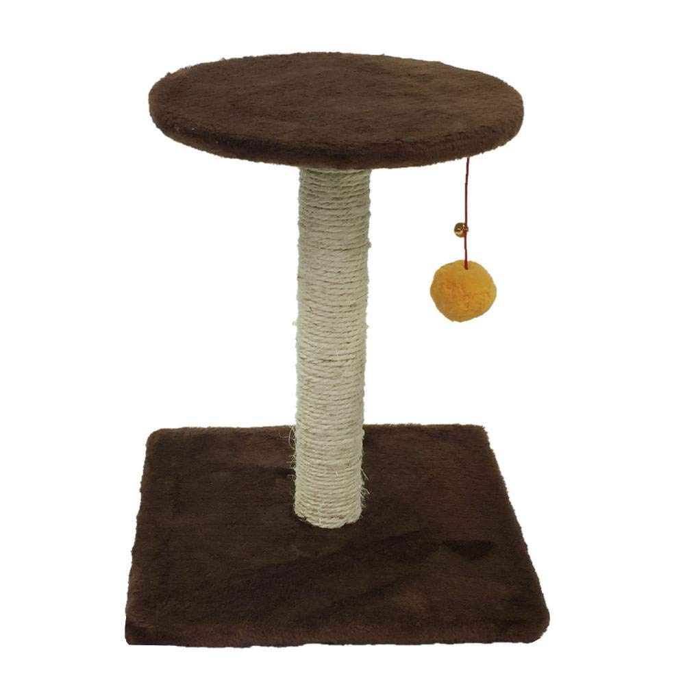 C Hexiansheng Cat Climb Trees Pet cat Toy Cat Scratch Cat Scratch Board furniture 30  30  37cm sheet rope Flannel