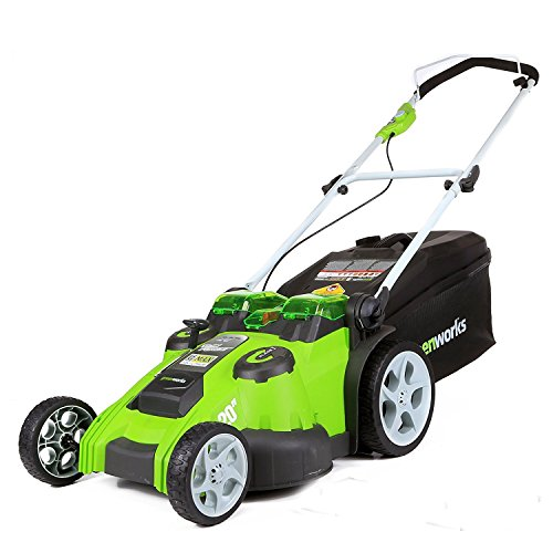 GreenWorks 25302 G-MAX 40V Twin Force 20-Inch Cordless Lawn Mower (Bare Tool) Battery Powered by greenworks