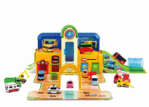 Tayo the Little Bus School Playset Portable
