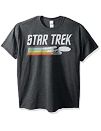 Star Trek Mens Big-Tall Vintage Logo T-Shirt