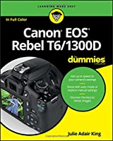 Canon EOS Rebel T6/1300D For Dummies Front Cover
