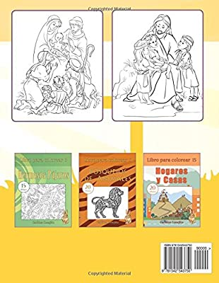 Libro para colorear Jesús: 12 dibujos (Volume 14) (Spanish Edition ...