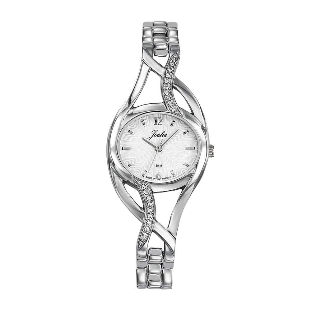 Damen Messing 633004 Mit Joalia Quarz Armband Analog Uhr P8knOXw0