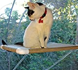 """The """"Ultimate Cat Perch"""" – No Hanging Wires & Stronger for Increased Reliability (holds 80 pounds)"""