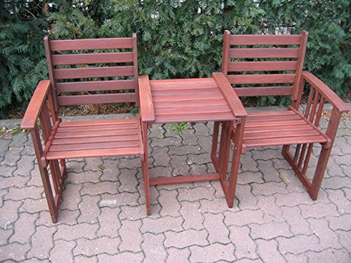 gartenbank 2 sitzer mit tisch bestseller shop mit top. Black Bedroom Furniture Sets. Home Design Ideas