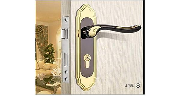 Weiuty 9666 - Picaporte para puerta (doble cerradura, 3 piezas, incluye 2 bisagras planas y ventosa), color verde: Amazon.es: Bricolaje y herramientas