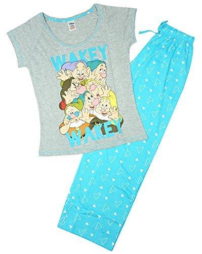 Mujer Disney Blancanieves Siete Enanitos Paquete De Regalo Pijama Tallas Grandes de 8 a 22 -