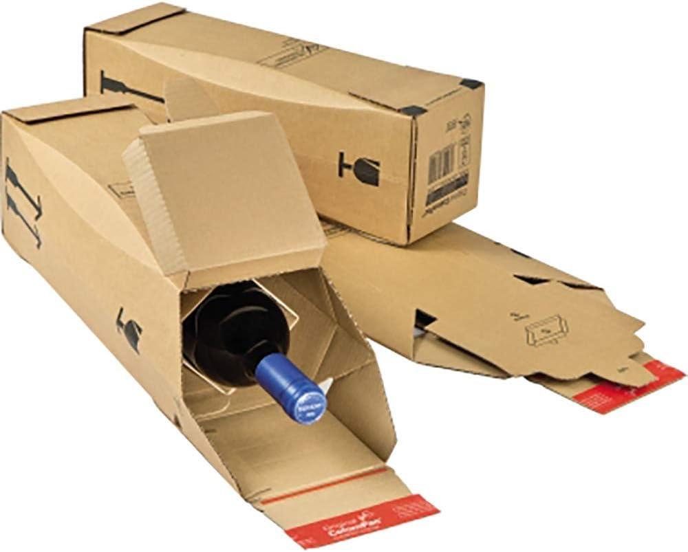 Colompac 30017890 Botellas de Cartón con cierre autoadhesivo, Paquete de 10: Amazon.es: Oficina y papelería