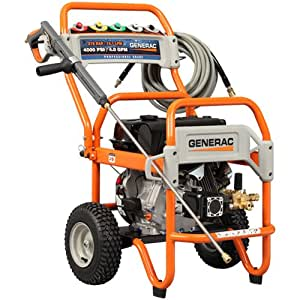 Generac 5997 4,000 PSI 4.0 GPM 420cc OHV Gas Powered Commercial Pressure Washer (Discontinued by Manufacturer)