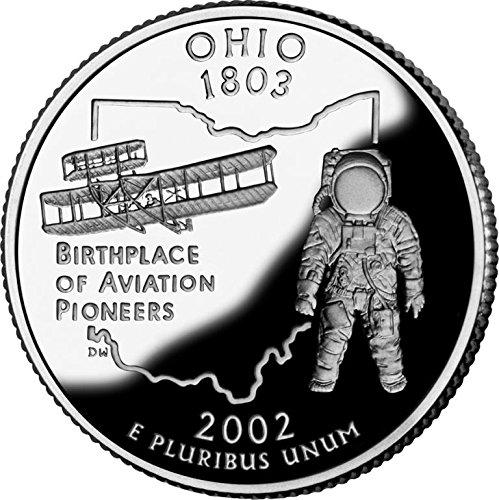 2002 Ohio – P State Quarter Roll
