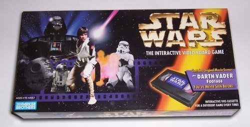 Parker Brothers Star Wars Interactive Video Board Game (Star Wars On Vhs)