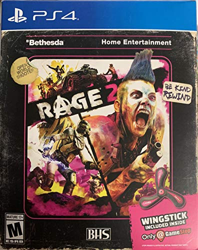 Rage 2 – Includes Exclusive Wingstick