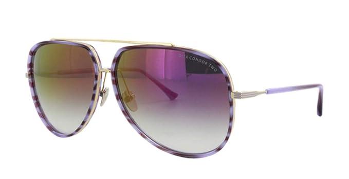 3d6949d6660 Amazon.com  Dita Condor Two 21010-C-PUR-GLD-62 Sunglasses  Clothing