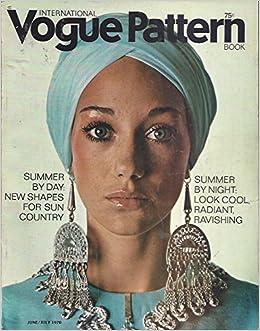 1970 June July International Vogue Pattern Book Magazine Runway Fashion Super Models Prada Gucci: Vogue: Amazon.com: Books