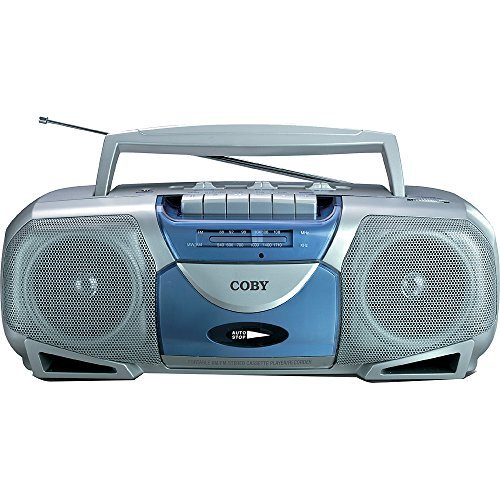 Coby Home Headphones - Coby Portable Stereo Tape Cassette Player/Recorder With AM/FM Radio Tuner Mega Bass Reflex Stereo Sound System
