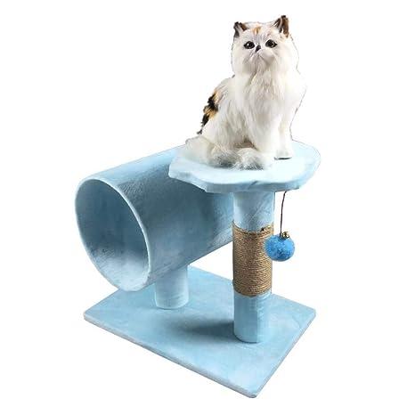 Dixinla Árbol Gatos Gato de Juguete del Animal doméstico Gato Muebles árbol agarrar Mesa Nido casa