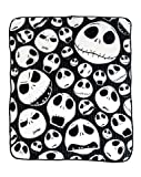 jack skellington blanket - Nightmare Before Christmas 'Skulls' Super Plush Throw, 46 by 60-Inch