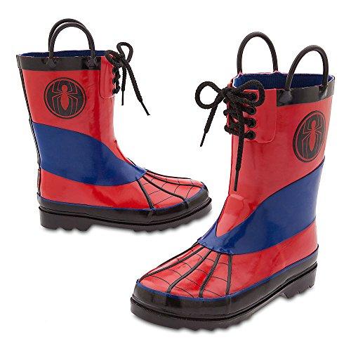 Marvel Spider-Man Rain Boots - Kids Size 7