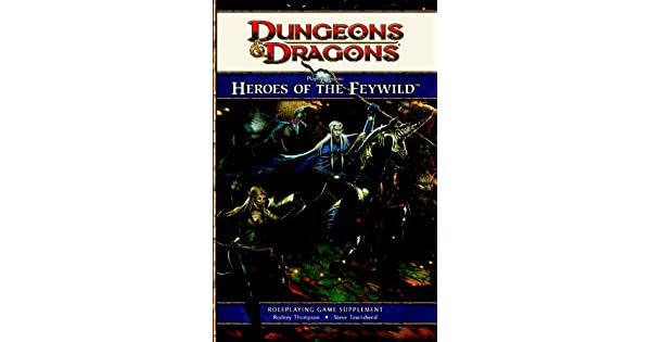 Amazon.com: Players Option: Heroes of the Feywild: A 4th ...