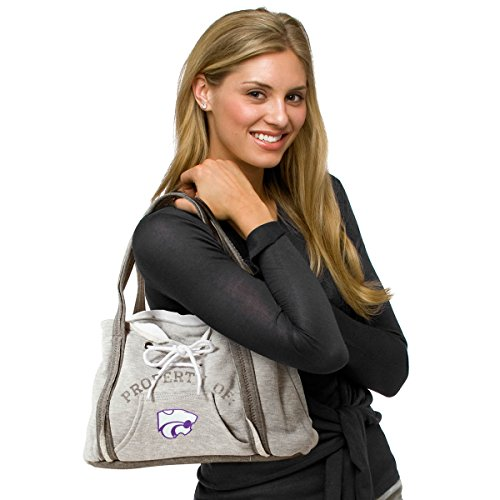 4 5 grey Wildcats kssu State Capucha Con 75 Mujer Wildcats By inches 9 inches inches 15 1 Kansas Cartera Ncaa Littlearth 150404 wP0xOaaY