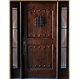 front entry doors with glass. Exterior Maricopa Deluxe Front Wood Entry Door With Sidelights Amazon com  Glass Doors Tools Home