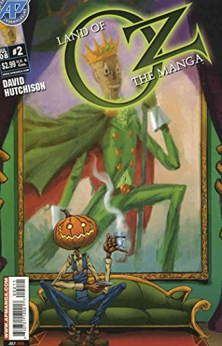 Land of Oz: The Manga #2 VF/NM ; Antarctic comic book