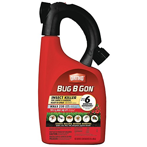 Ortho Bug B Gon Insect Killer for Lawns and Gardens Hose-End Sprayer (Case of 6), 32 fl.oz.