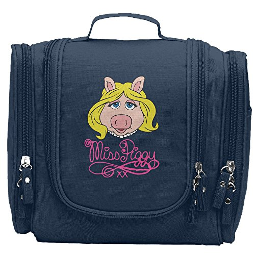 Women's Miss Piggy Makeup Organizer / Cosmetic Bag